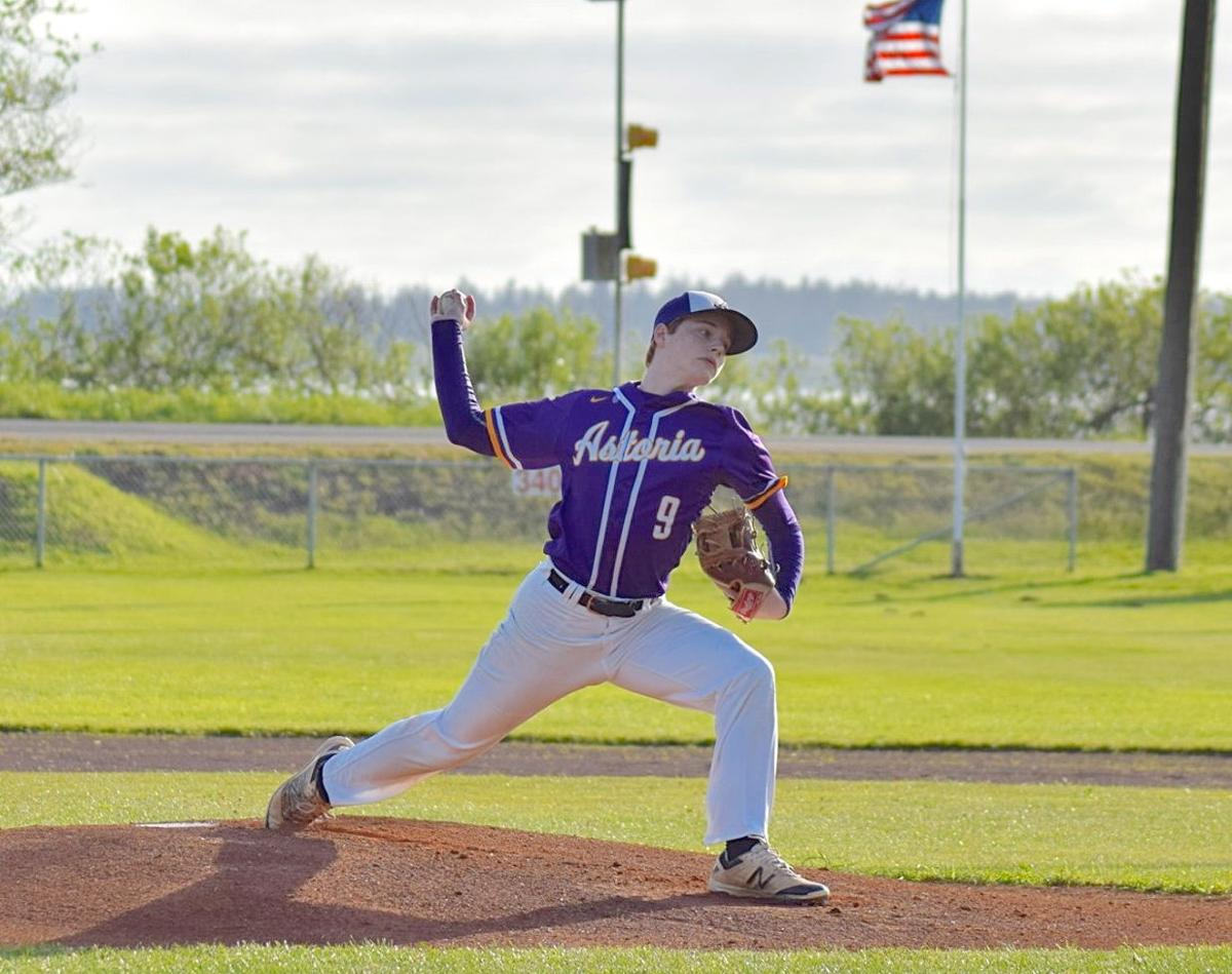 Astoria pitcher Will Reed