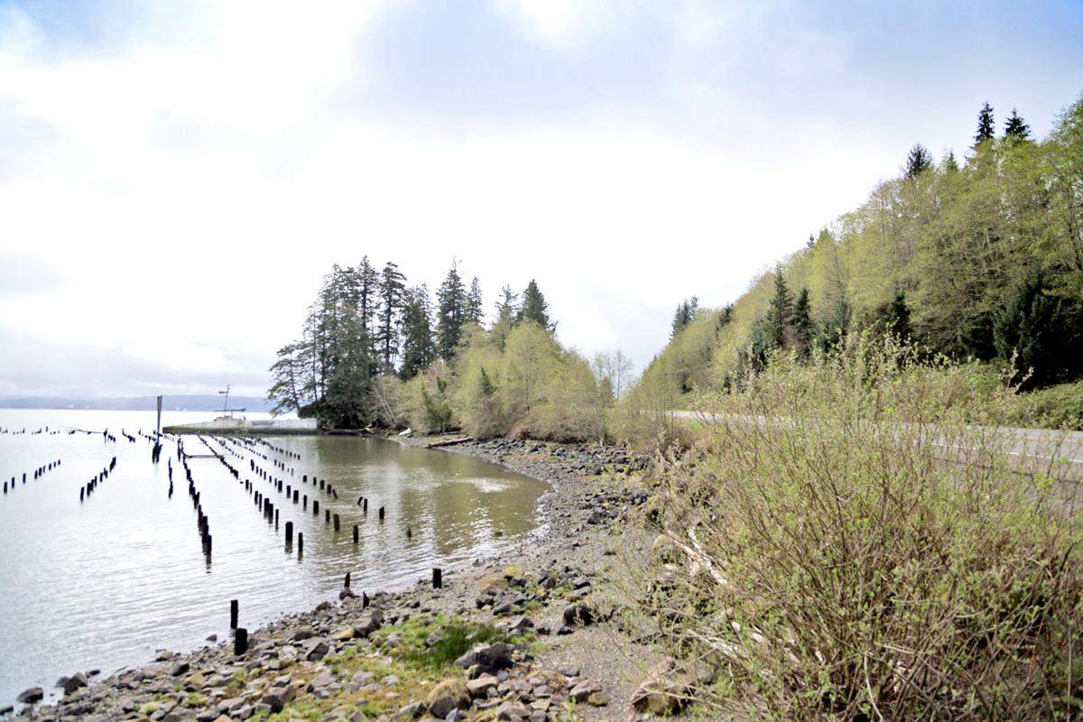 Vessel lies close to Washington State Route 401