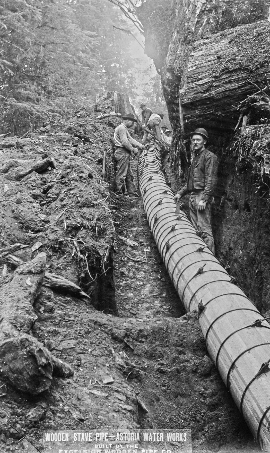 Astoria pipeline 1895