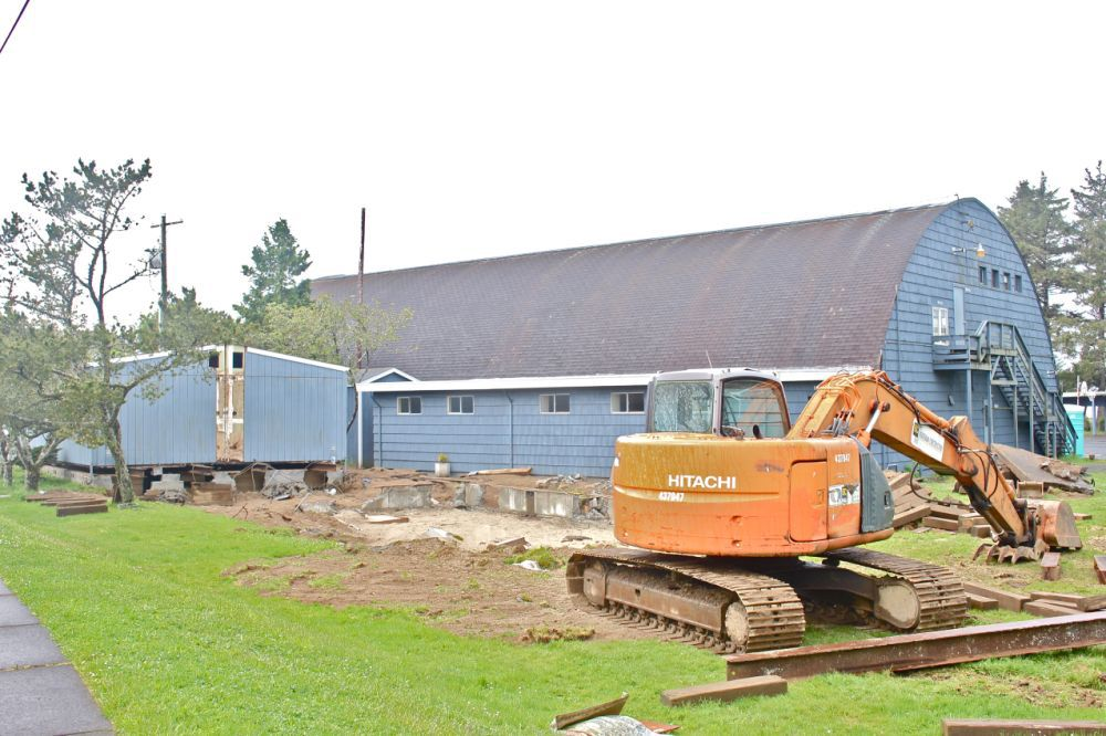 Wide load: Portable classrooms to become South County food bank's new home (copy)