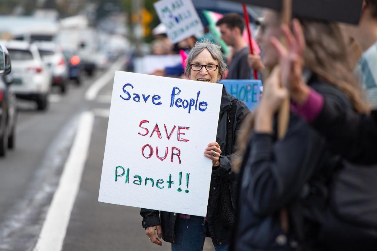 Climate strike Astoria