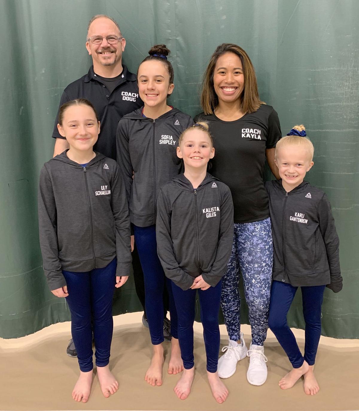 Infinity Gymnastics team
