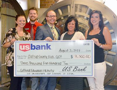 US Bank supports Clatsop Kids Go