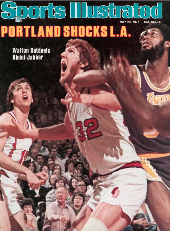 Blazers, Sports Illustrated cover