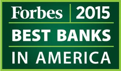 Forbes rates Columbia Bank as tops