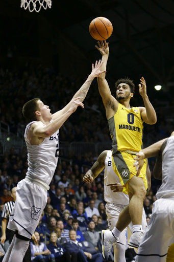 Marksman Markus Howard helps No. 24 Marquette return to poll