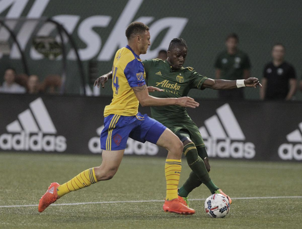 Valeri sets records, leads Timbers to 2-1 win over Rapids