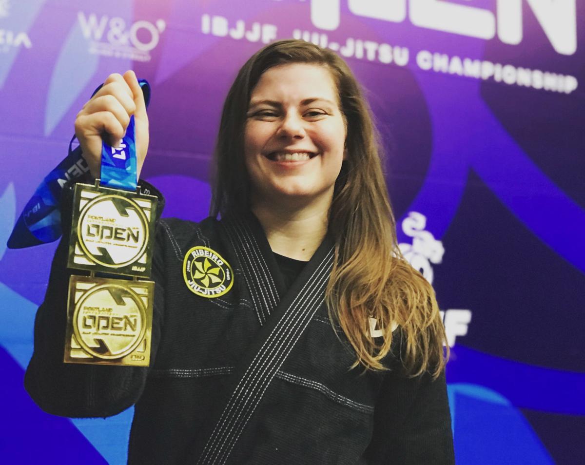 Michelle Johnson, jiu-jitsu athlete
