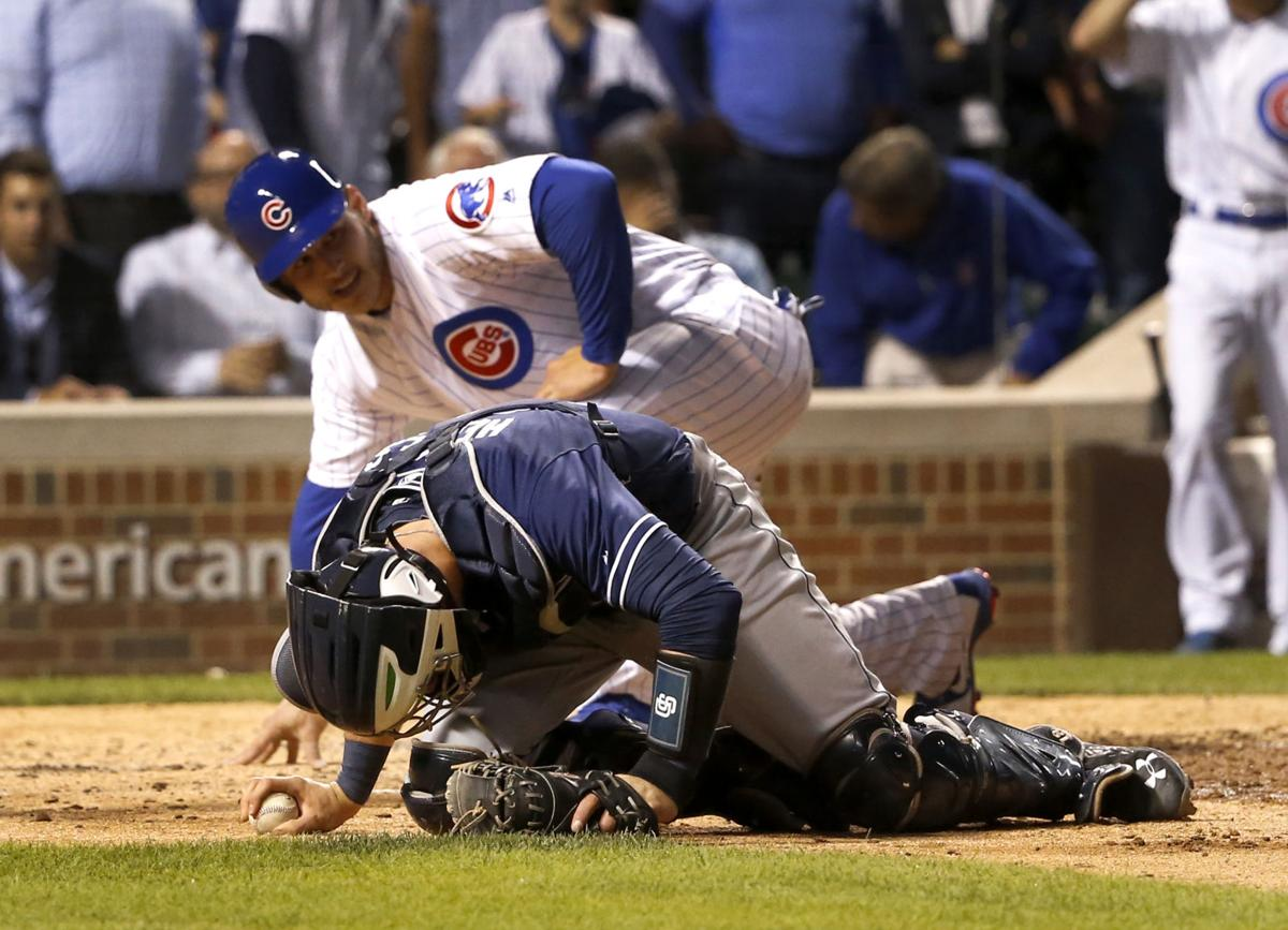 Rizzo speaks with MLB, no discipline for plate collision