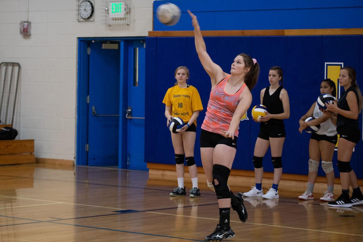 KHS Volleyball Serve
