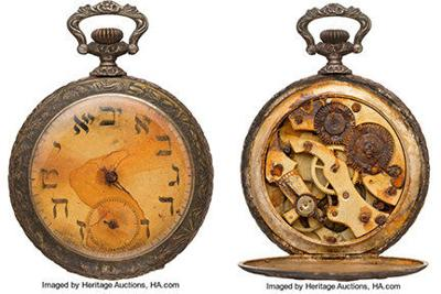 Titanic timepiece