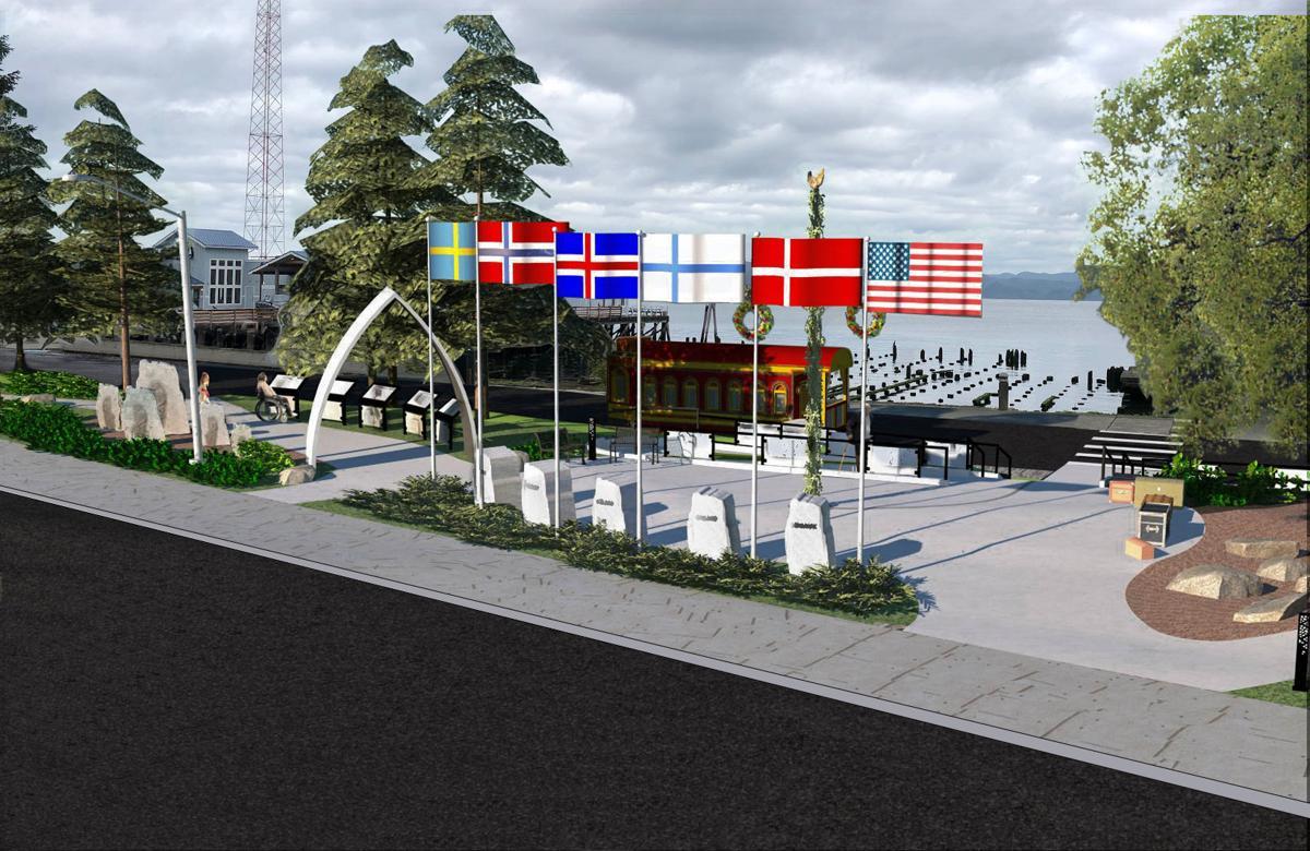 Astoria Nordic Heritage Park rendering