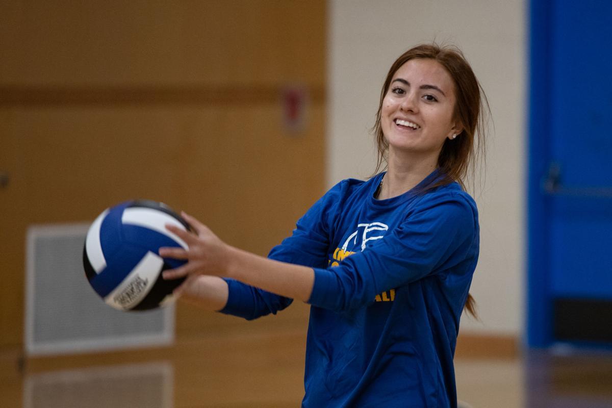 KHS Volleyball Toss