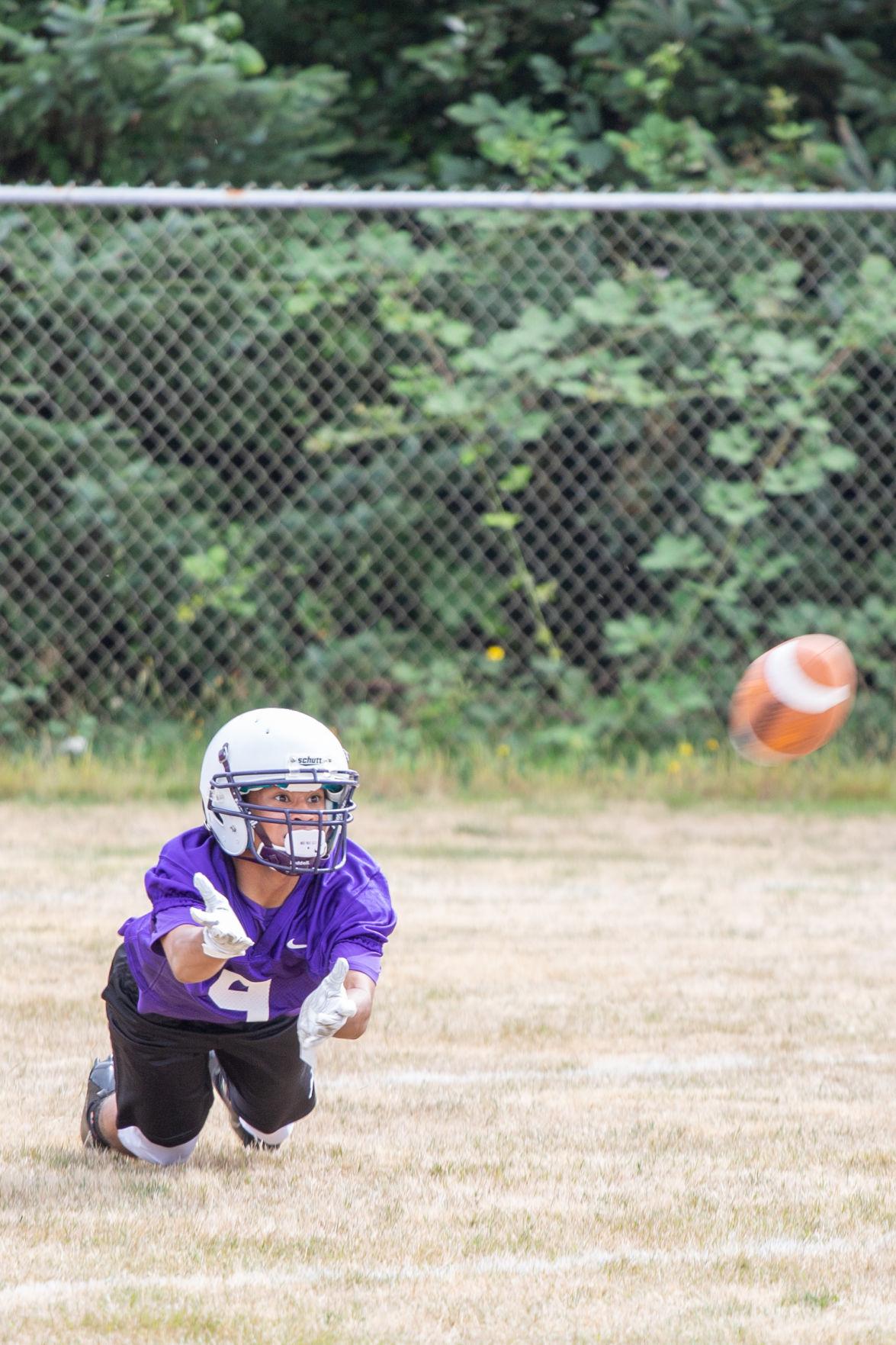 WHS Football Dive