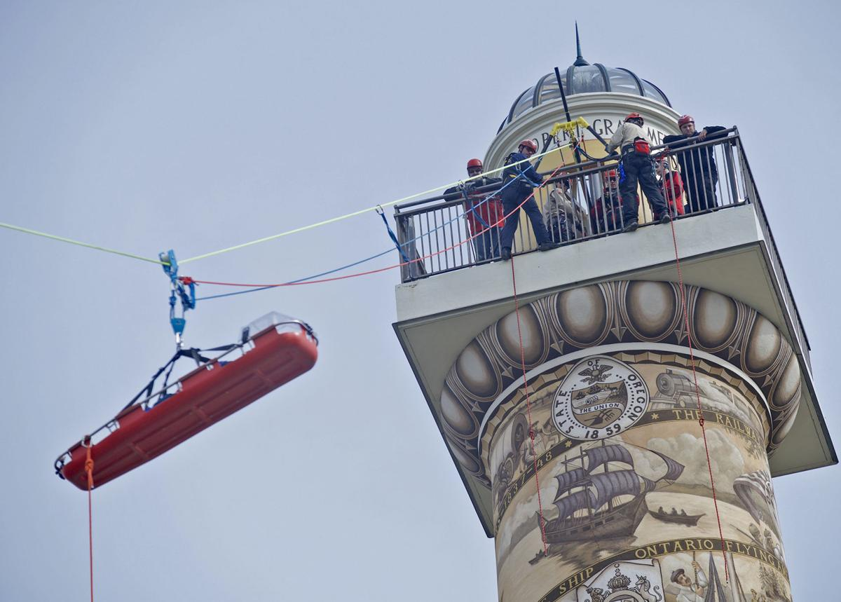 high angle rescue training