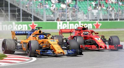 Raikkonen and Alonso take different paths in racing careers