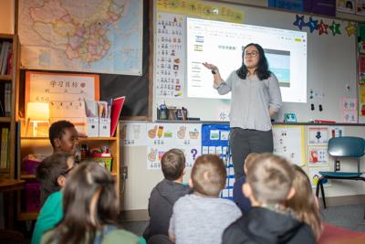 In Naselle, students see world cultures through Mandarin