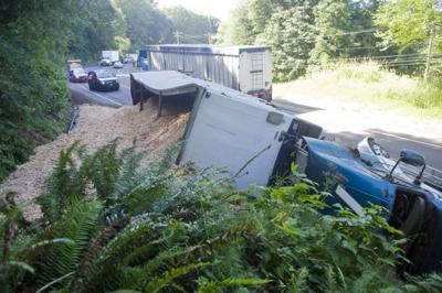 Highway blocked