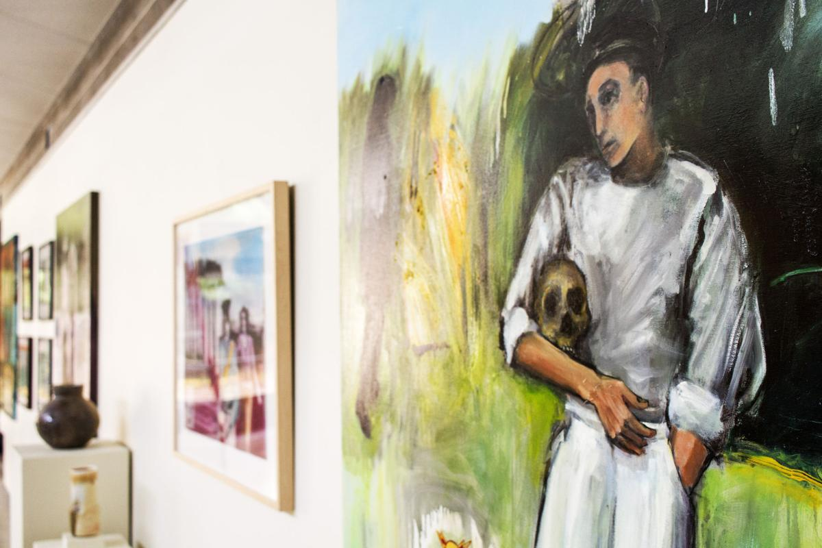Royal honor: College names art gallery after Royal Nebeker