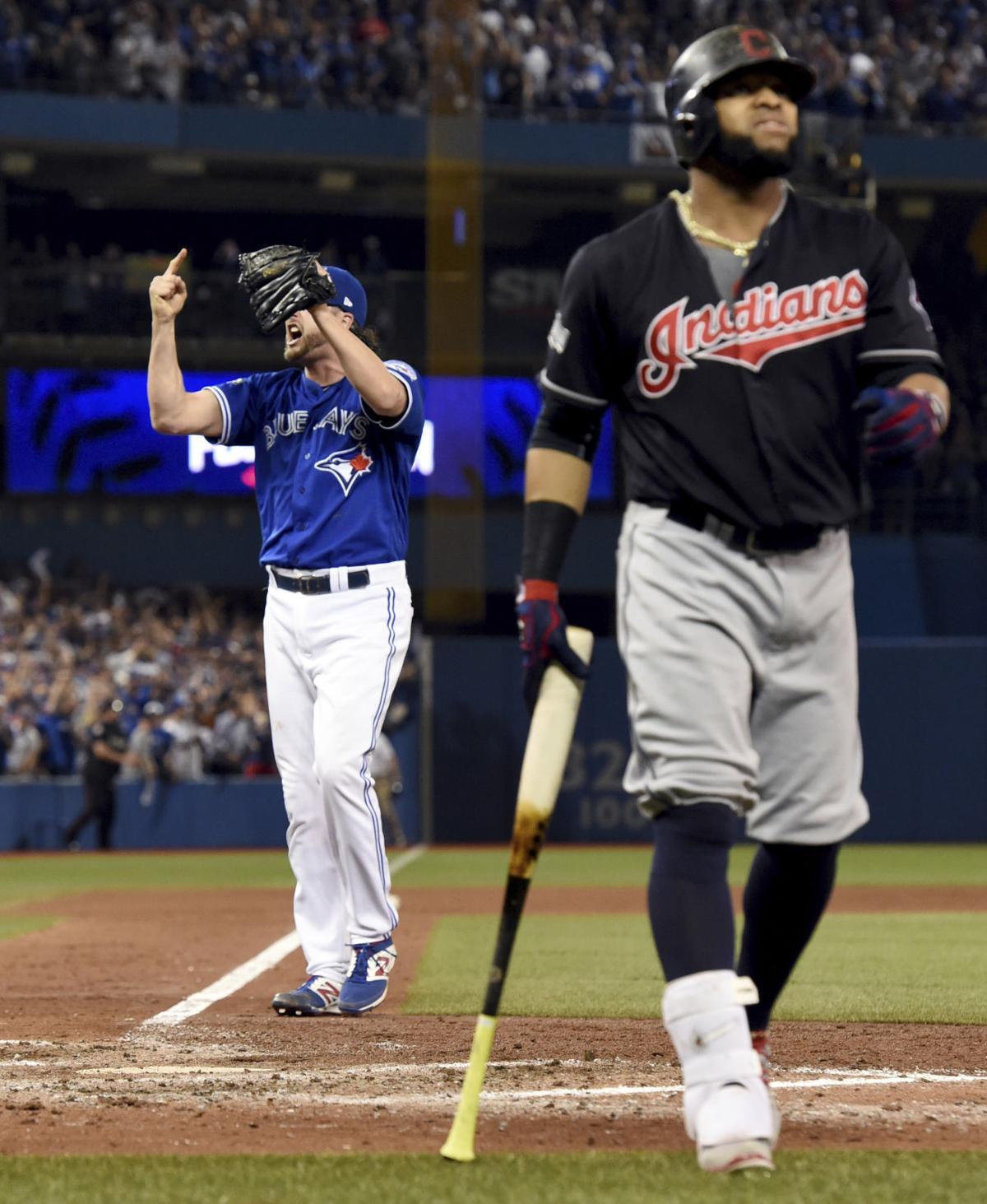 Blue Jays stave off ALCS elimination, beat Indians 5-1