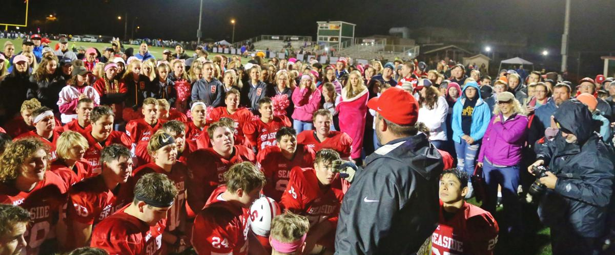 Seaside football ranked fifth in state