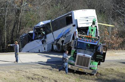 Probe ongoing in bus crash that killed 1 child, hurt dozens