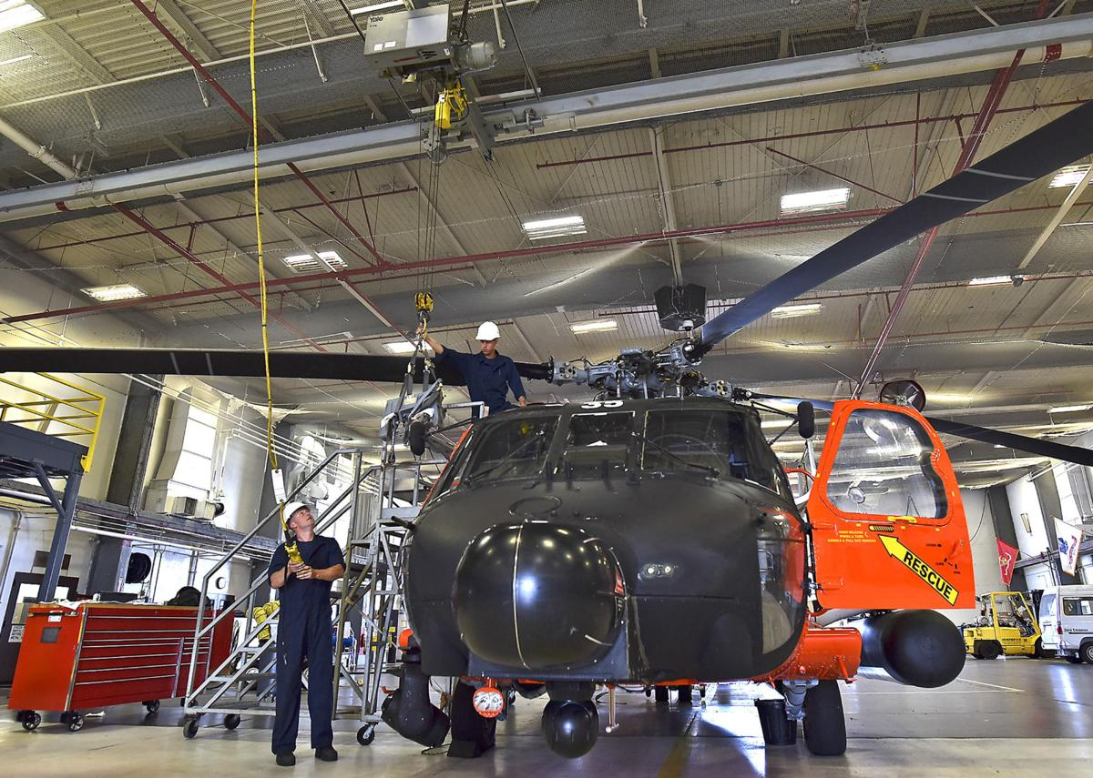 Maintenance never stops for Coast Guard helicopters | Local