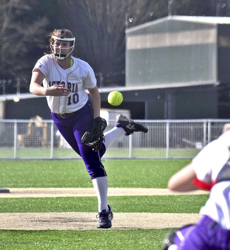 Julia Norris, Astoria softball