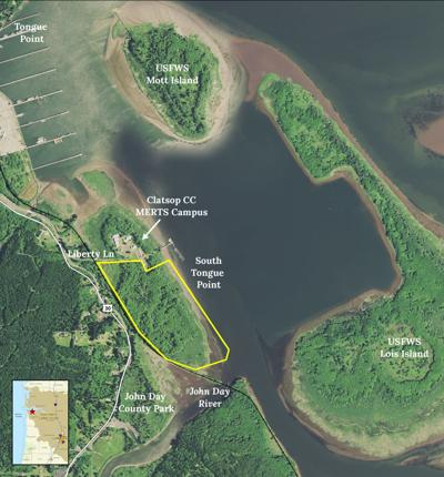 Columbia Land Trust short on South Tongue Point purchase