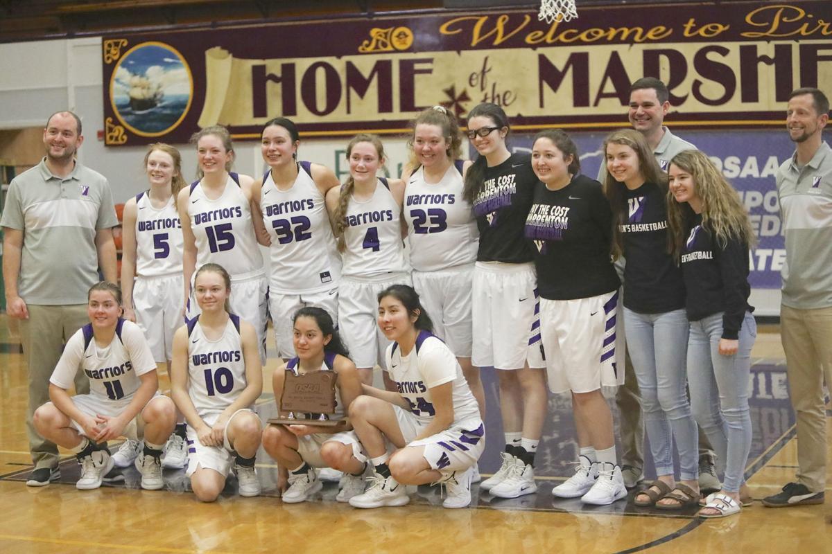 Warrenton girls basketball team