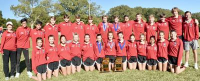CHS Cross Country 2020 state title pic