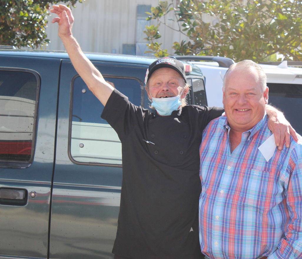 Inman given new truck for 40 years of service
