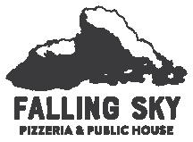 Falling Sky Logo | Black