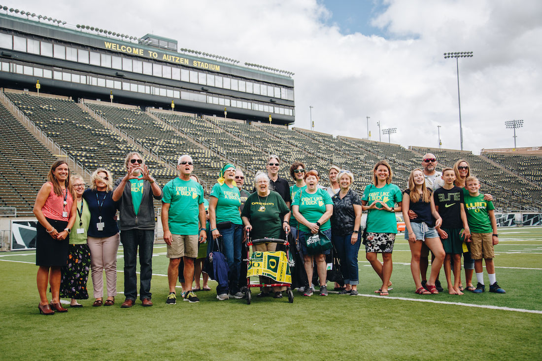 Fight Like a Duck: Cancer survivors to be recognized during Oregon football games