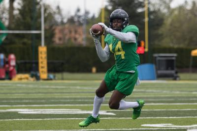 Oregon's young secondary grows during spring practice
