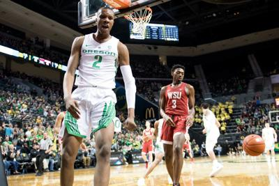 Report: Oregon's Louis King signs two-way deal with Detroit Pistons