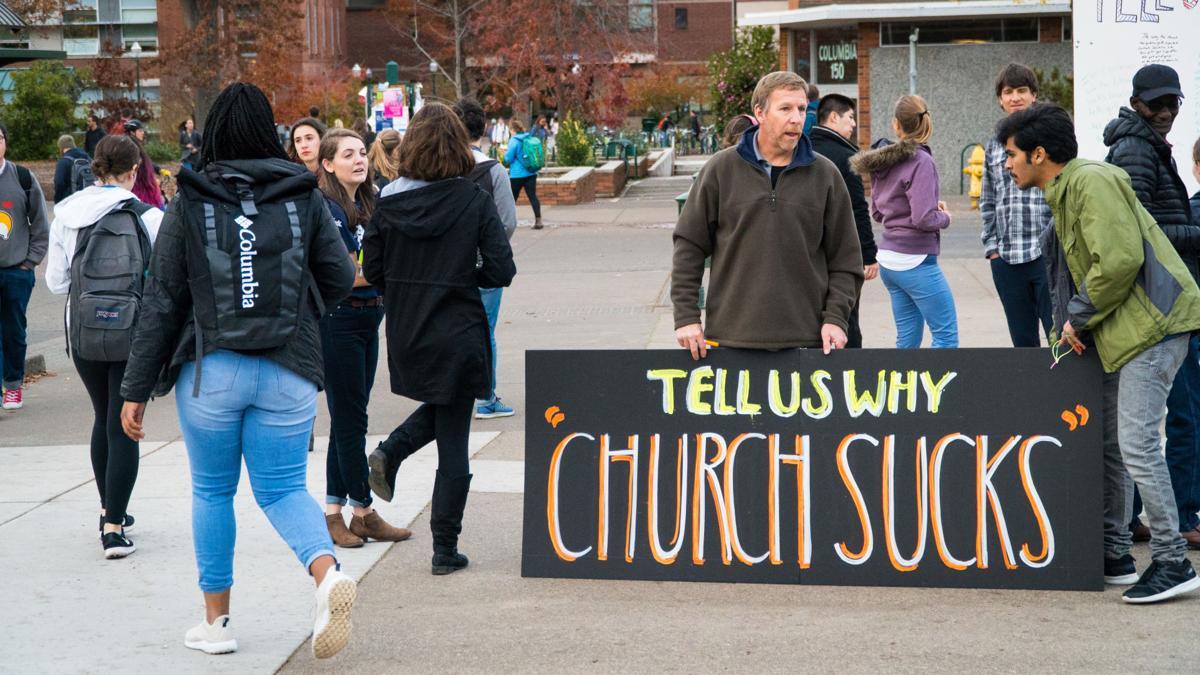Guest Column: Church Sucks: The writing on the wall