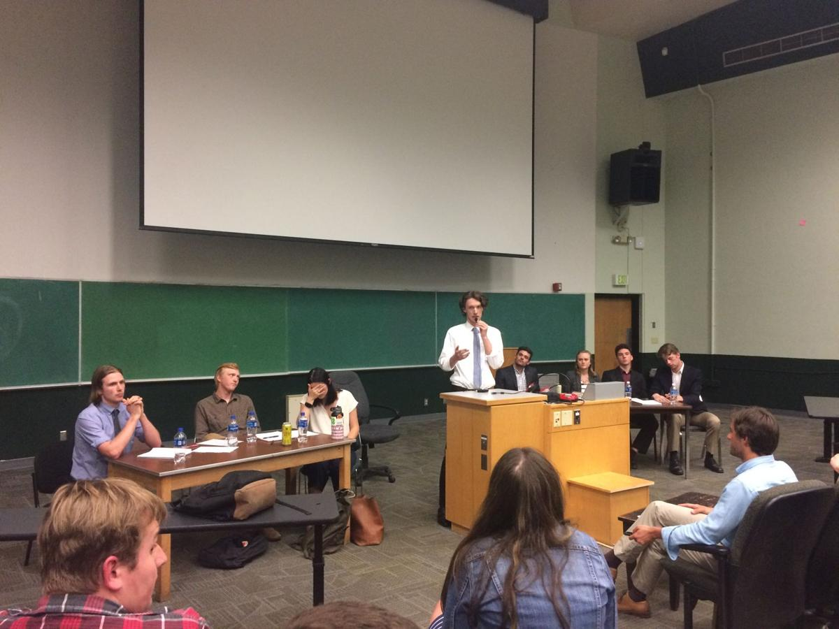 College Republicans and Democrats debate, define their positions and find common ground