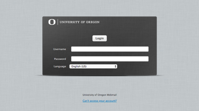 Students receive scam emails through Uoregon email