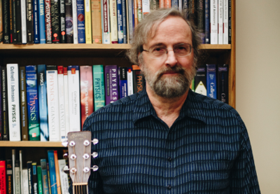 UO physics professor and guitarist examines the close connection between science and music