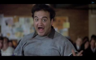 Watch 'Animal House' and check out how little the EMU Fishbowl has changed over the years