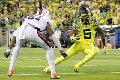 Oregon senior running back Taj Griffin to transfer