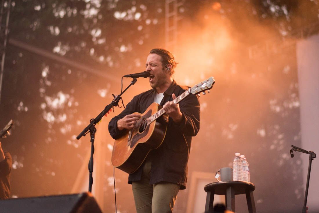 Review: Fleet Foxes perform amid wildfire smoke in Troutdale