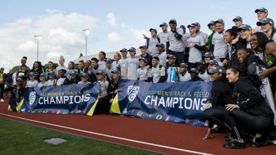 Men's and women's track snag Pac-12 titles, No. 3 softball set to begin postseason run
