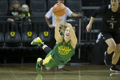 Oregon women's basketball beats Portland State 88-60 in charity exhibition