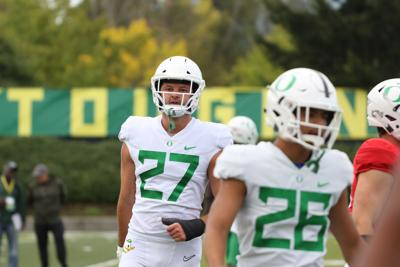 Oregon tight ends regroup after loss of McCormick