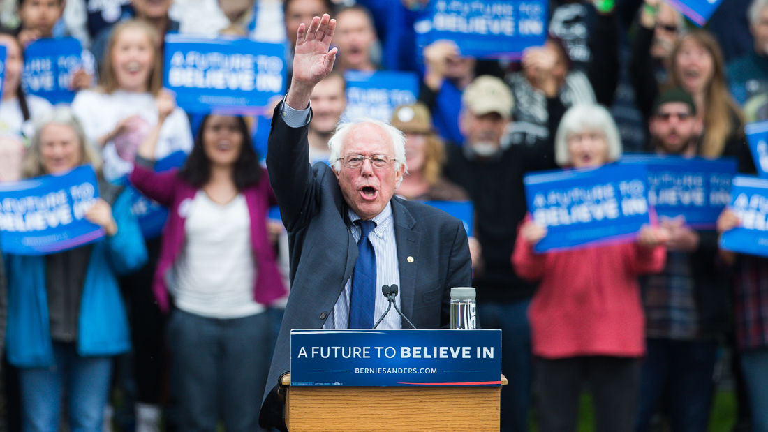 Photos: Presidential candidate Bernie Sanders comes to Springfield