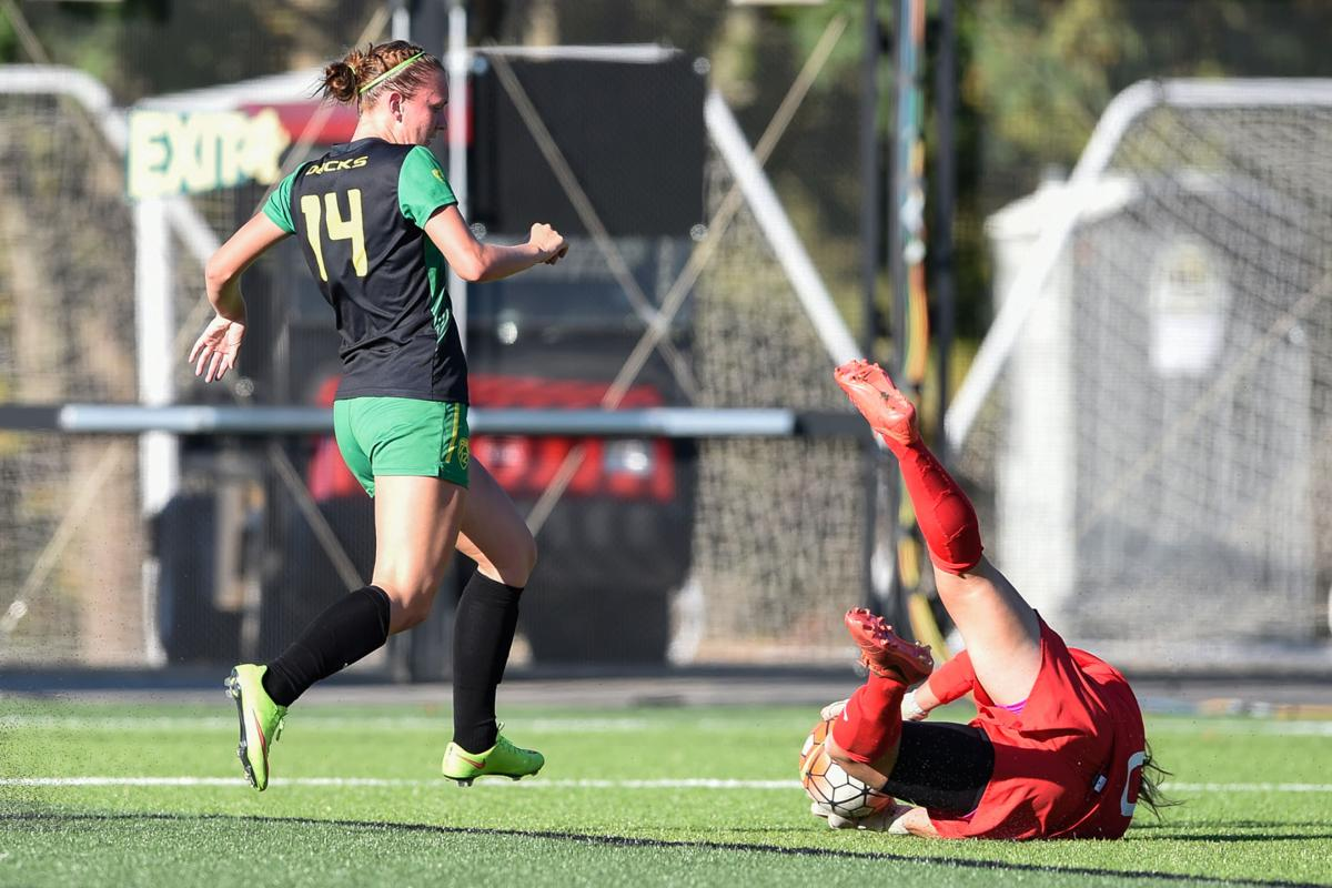 Photos: Oregon soccer beats Portland state 1-0