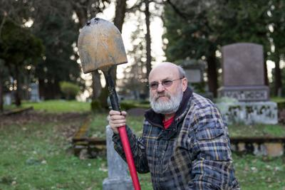 Guardians of the Graves: The people working between the graves in Eugene Pioneer Cemetery