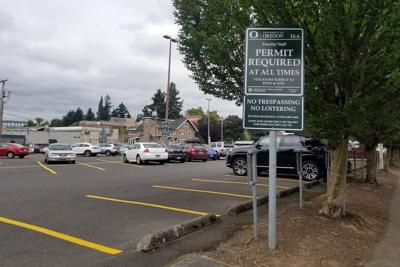 Prince Lucien Campbell Hall parking lot now requires a permit 24/7